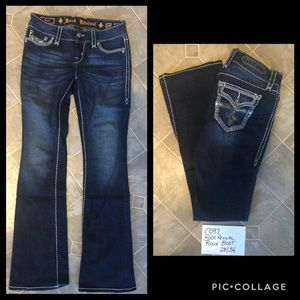 Rock Revival Roux Bootcut Jeans Tall